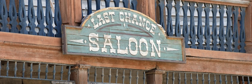31 July - last chance saloon