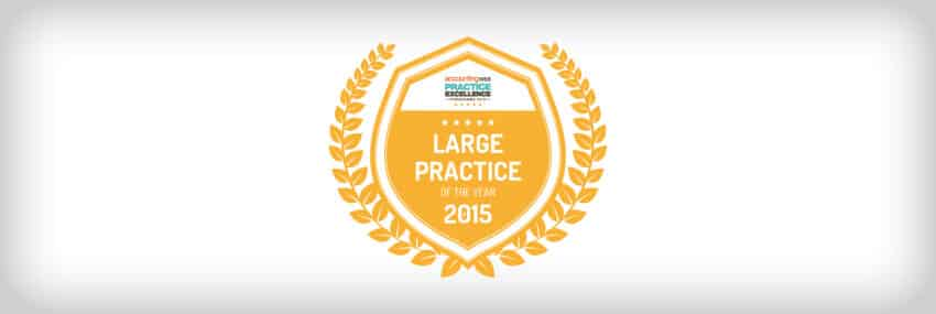 Practice Excellence Large Practice of the year