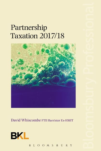 Bloomsbury Partnership Taxation 2017-18